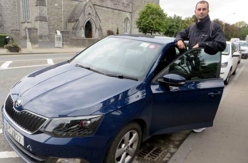 Mi primer coche en Irlanda